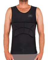 Rib Guard Padded Vest - Black