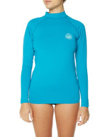 Girls Waves Long Sleeve - Ocean
