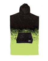 Youth Southside Hooded Poncho - Black