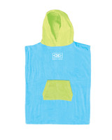 Toddlers Hooded Poncho - Blue