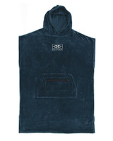 Mens Corp Hooded Poncho - Navy