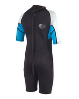 Boys Back Zip Free-Flex Spring Suit - 2mm