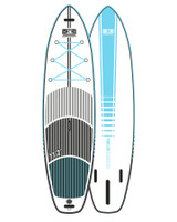 Fuse-Lite | Flat Water SUP Board -Blue 11'2""