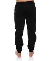 Mens Chance Cuff Leg Track Pant - Black