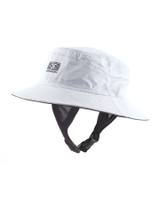 Mens Bingin Soft Peak Surf Hat - White