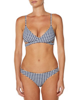 Ladies Santana Bikini - Navy Check