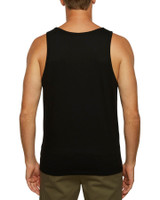 Big Mens Priority Singlet - Black