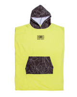 Youth Hooded Poncho - Lime