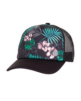 Ladies Waves Cap - Black