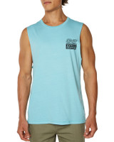 Big Mens Totally Filthy Muscle-Turquoise