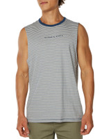Big Mens All Nighter Muscle-Navy