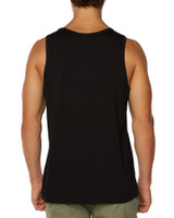 Big Mens Priority Singlet-Black