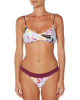 Ladies Midnight Swim Bikini-Oasis Floral