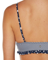 Ladies Big Time Bikini-Nautical Stripe