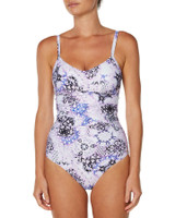 Ladies Jetset D Cup O/Piece-Gypsy Print