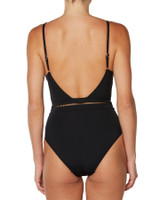 Ladies Here Forever One Piece-Black