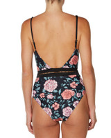 Ladies Here Forever One Piece-Black Rose