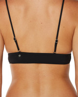 Ladies Sunkissed Bikini Top-Black