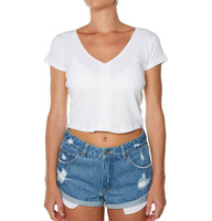Ladies Mimmi Tee-White