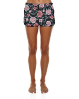 "Ladies Beachin 2"" Boardie-Black Rose"