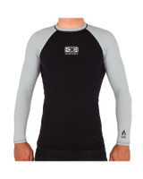 Boys Flame Long Sleeve Skin - Black