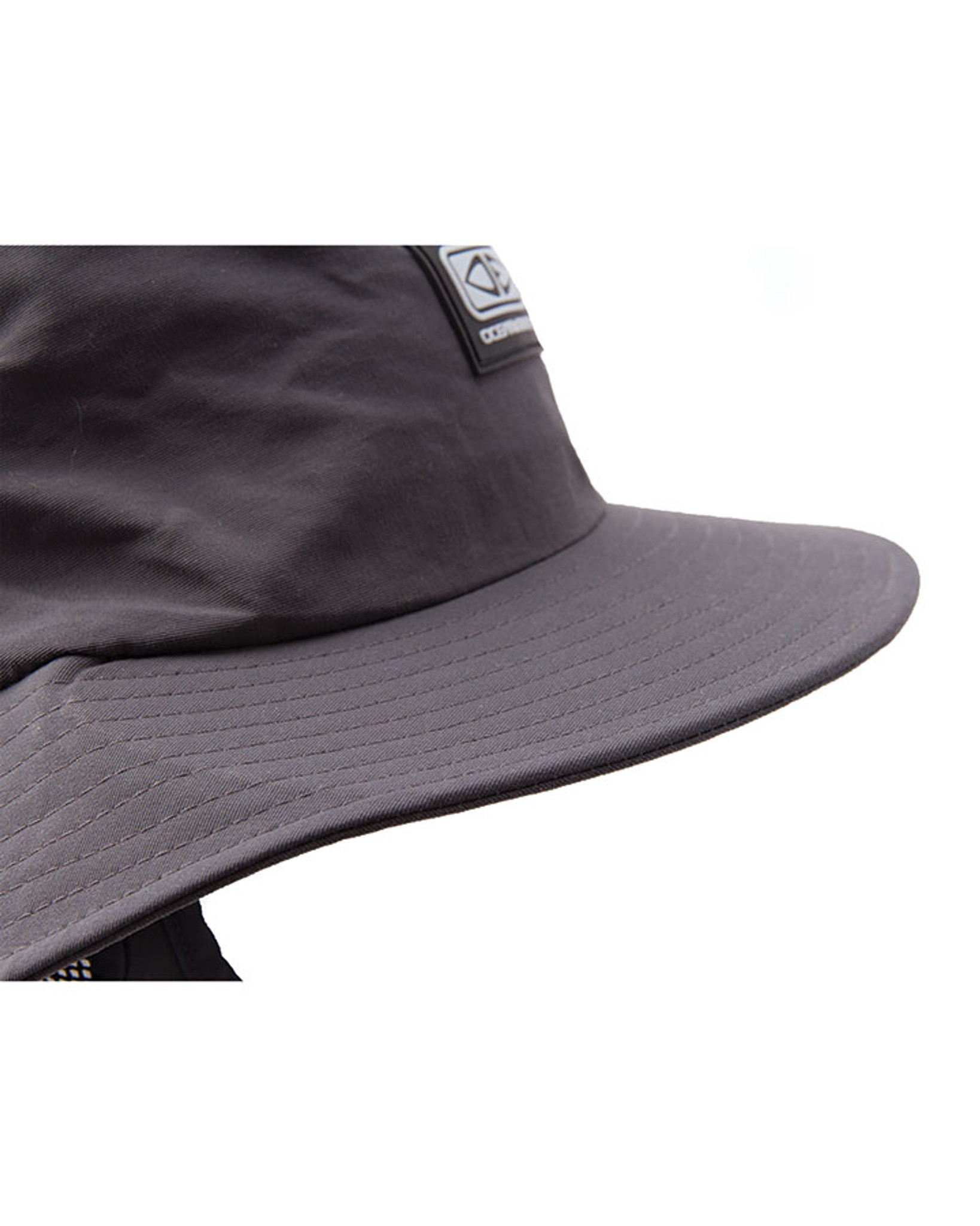 a32df6445ae Boys Indo Stiff Peak Surf Hat - Black - Ocean   Earth