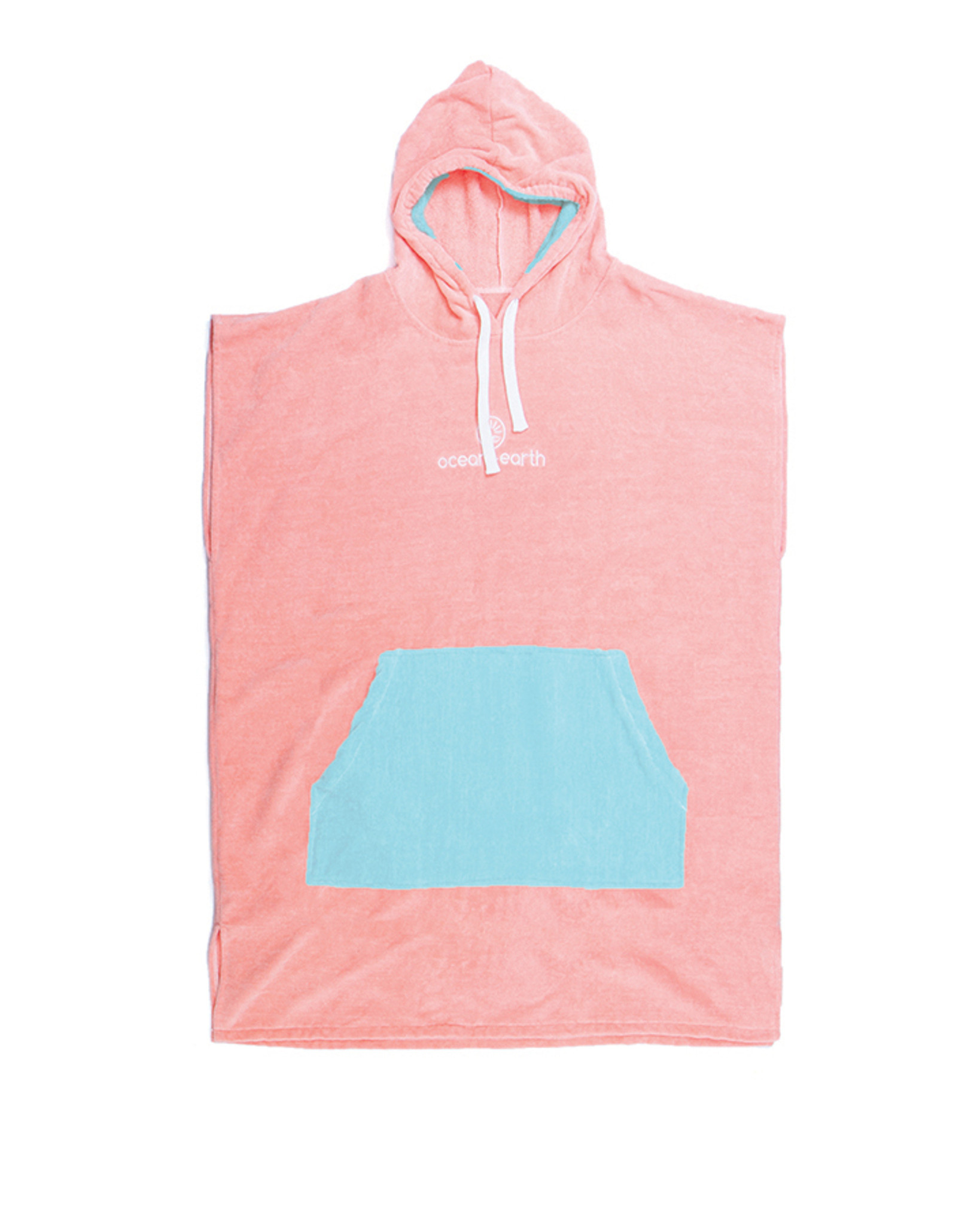 Ocean /& Earth Youth Irvine Hooded Poncho Towel In Blue