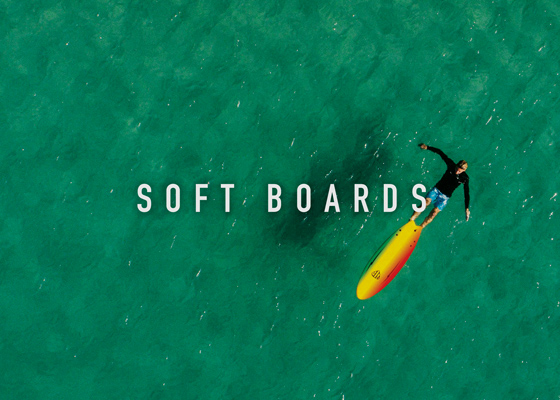 Soft boards by Ocean and Earth