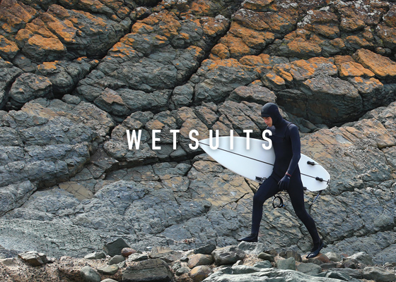 Wetsuits and lycra by Ocean and Earth