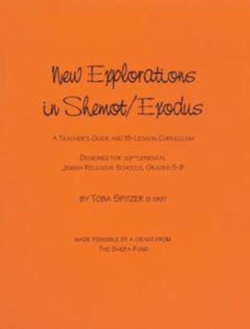 New Explorations in Shemot/Exodus