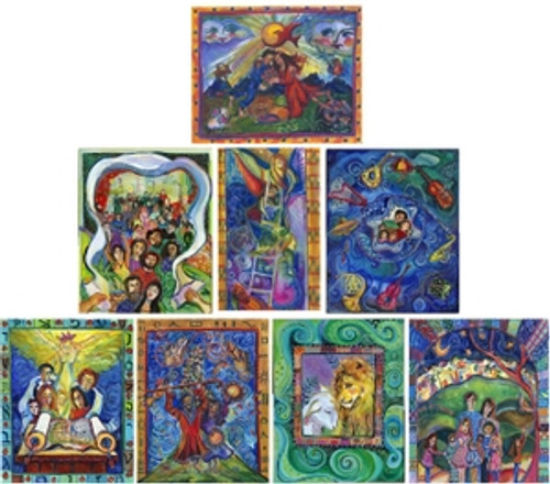Siddur Kol Hano'ar: A Voice of Children- Beautiful Artwork Notecards