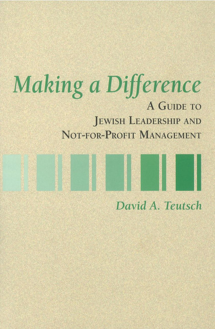 Making a Difference by Rabbi David Teutsch