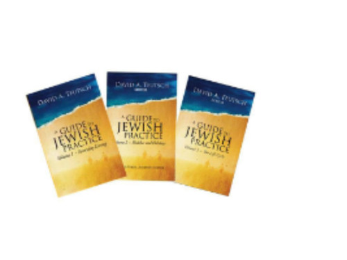 Guide to Jewish Practice Three-volume Set
