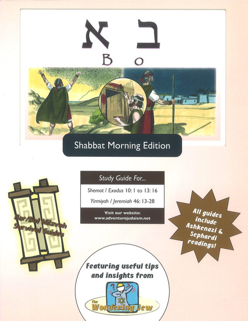 Bo (Shemot/Exodus 10:1 to 13:16) Shabbat Morning Edition