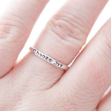 Choose Joy Ring in Sterling Silver