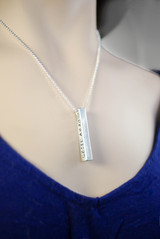Proverbs 31 Necklace in Artisan Pewter