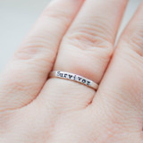 Sterling Silver Survivor Ring