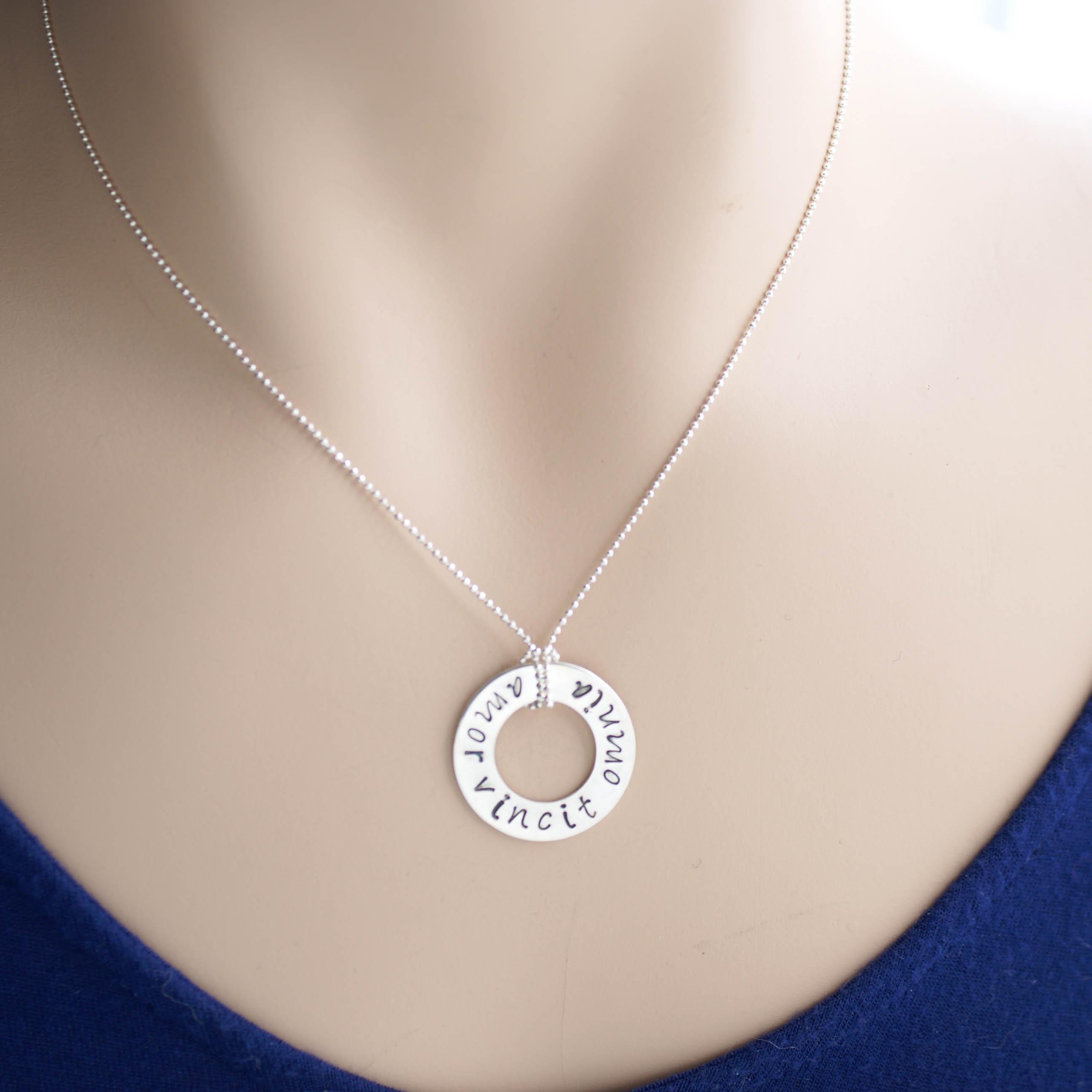 Amor Vincit Omnia Necklace