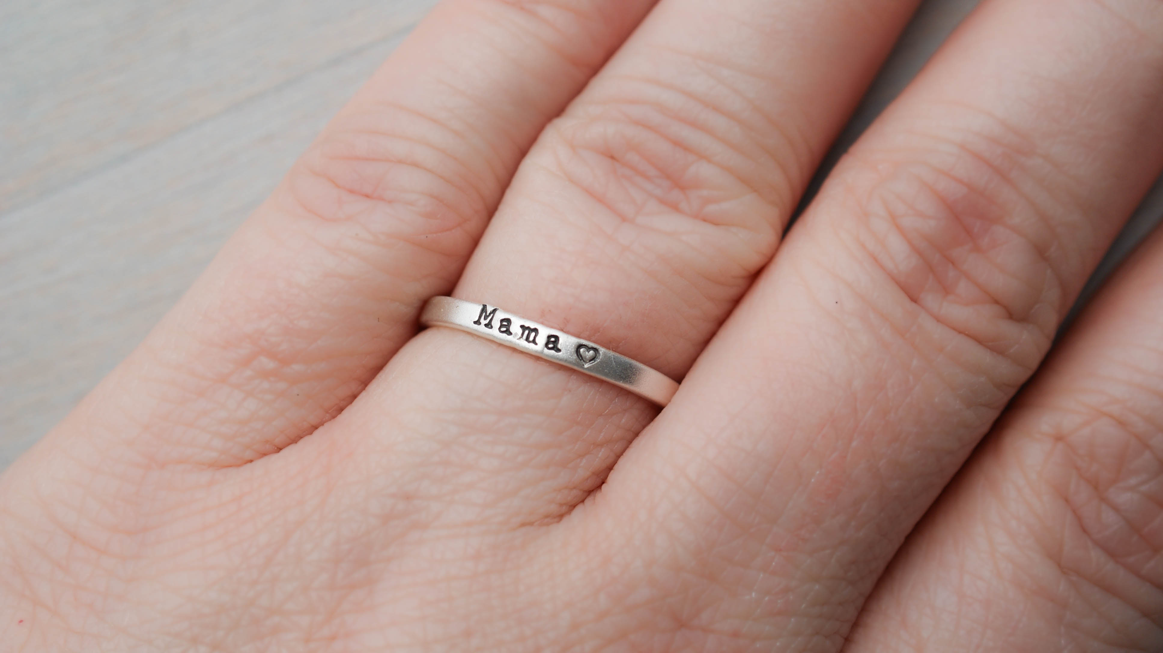 Mama Ring {sterling silver}