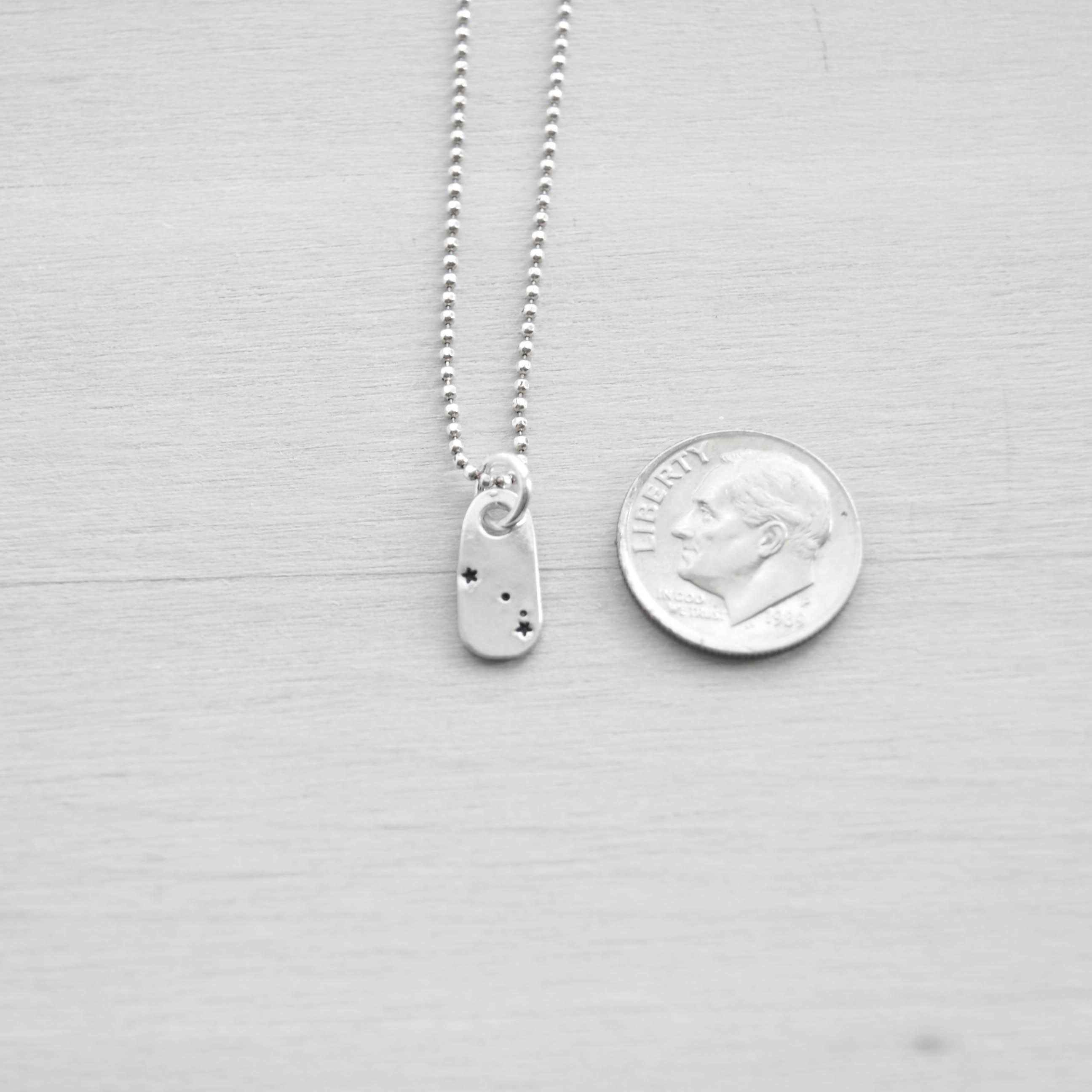 Aries Constellation Zodiac Necklace