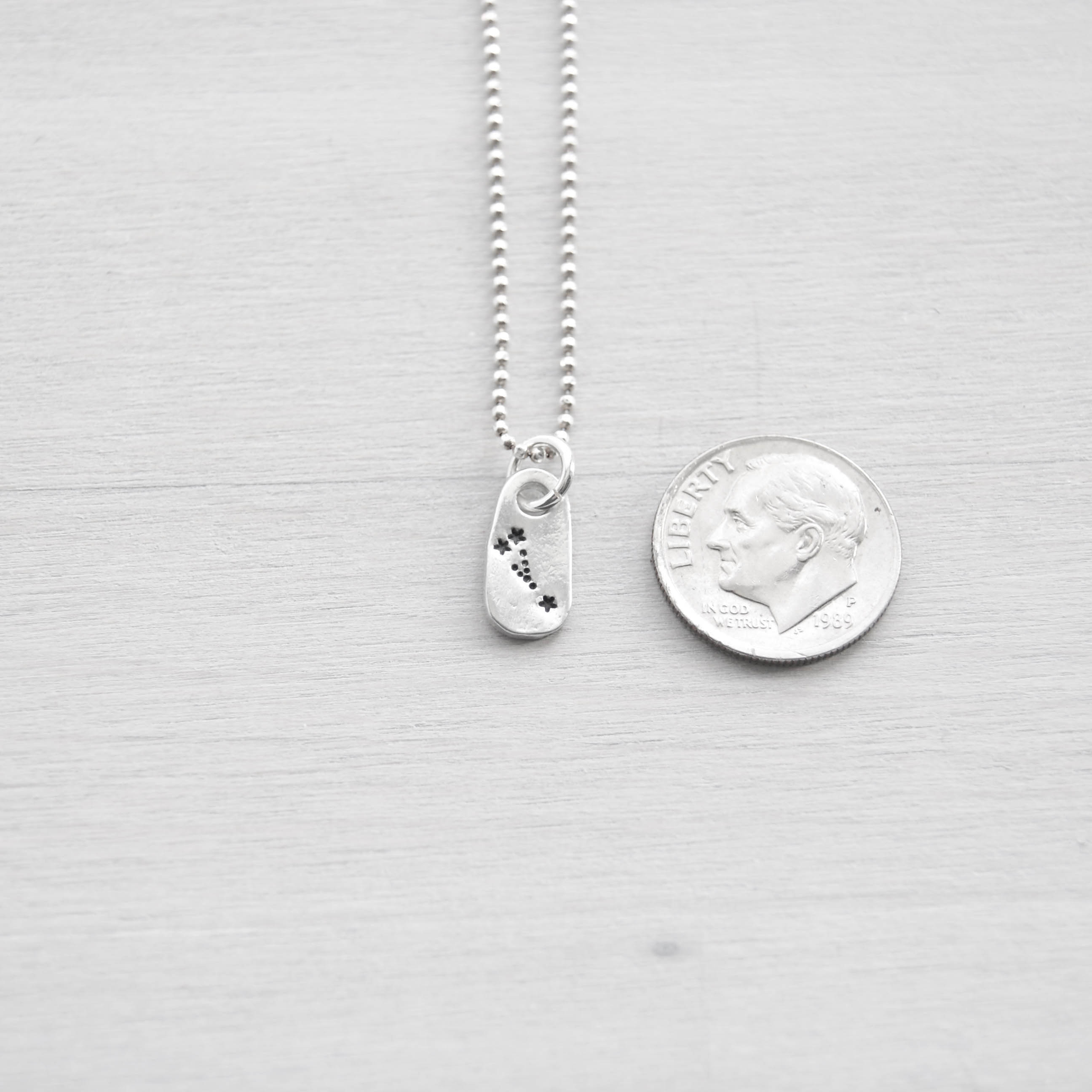 Taurus Constellation Zodiac Necklace