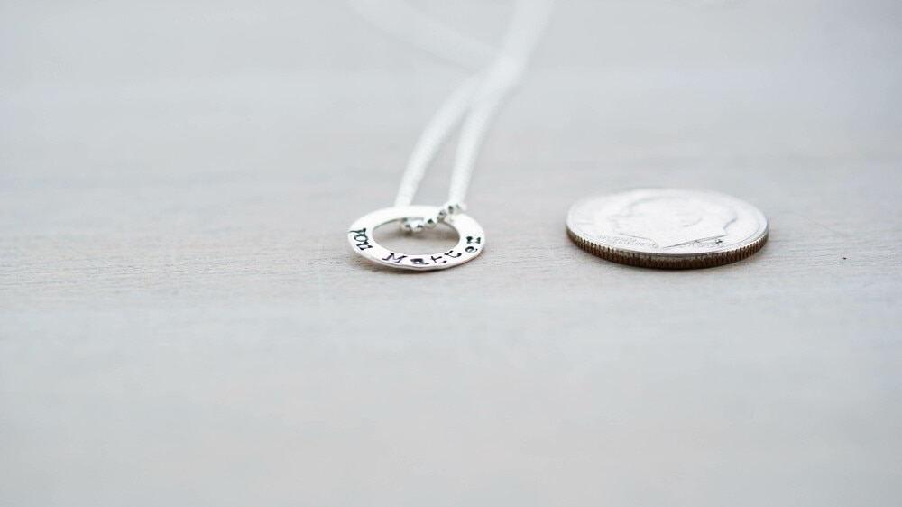 You Matter Anxiety Ring in Sterling Silver