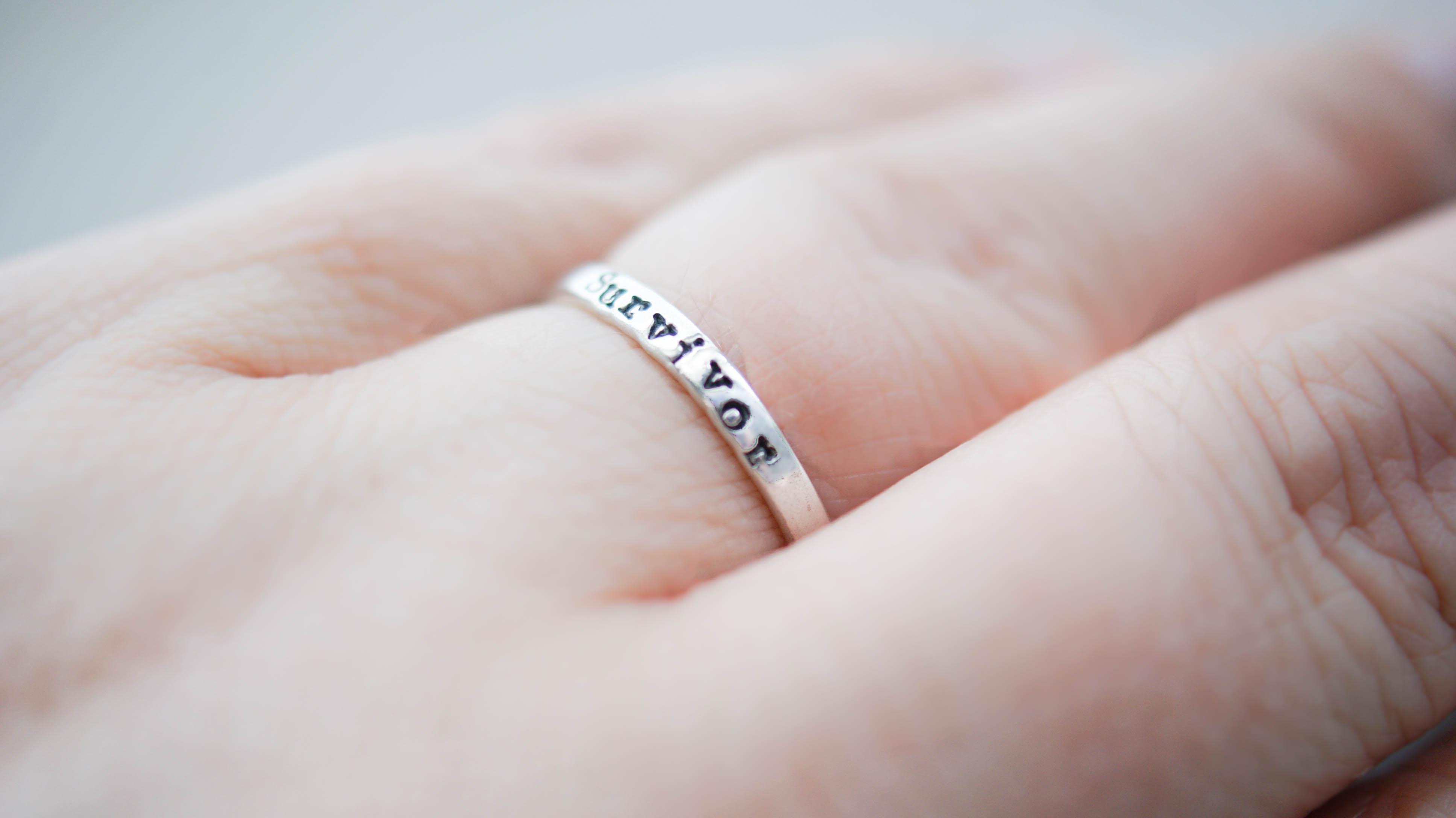 Sterling Silver Survivor Ring