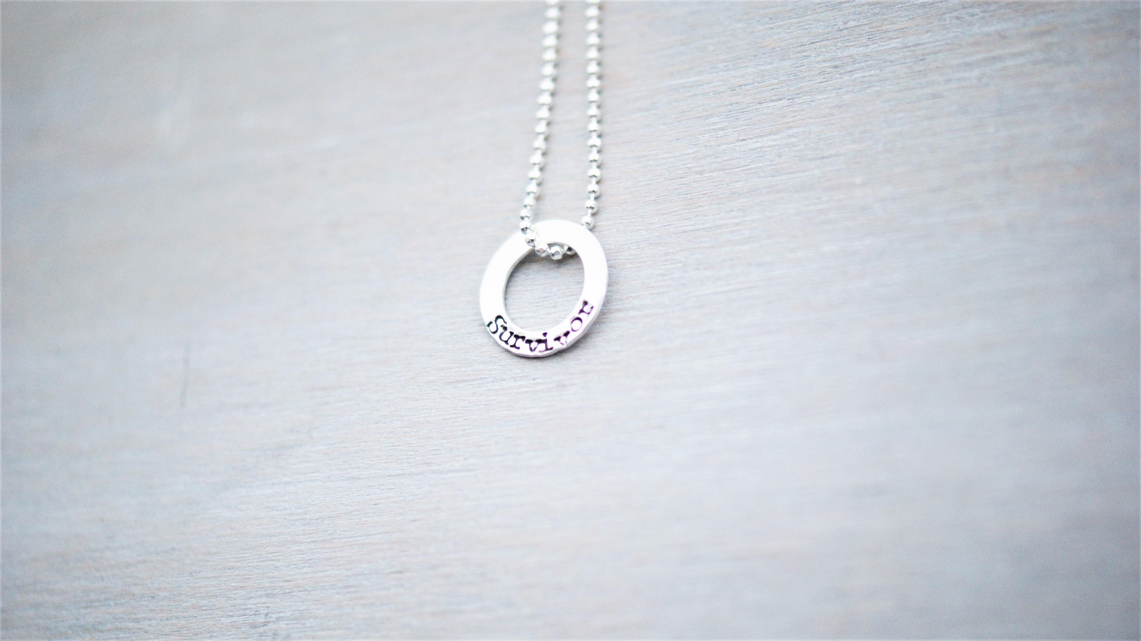 Survivor Necklace in Sterling Silver