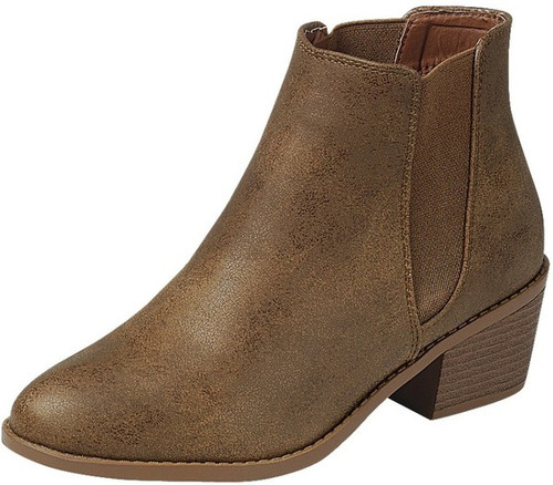 Ankle Booties, Tan