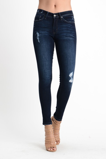 The Ankle Skinny Jeans