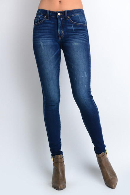 Lightly Distressed Skinny