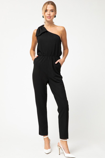 OTS Pocket Jumpsuit, Black