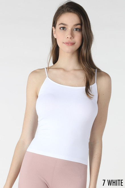 Short Cami, White