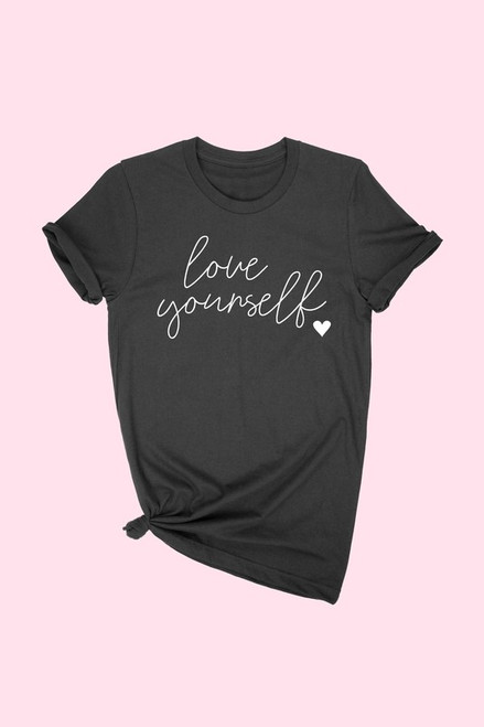Love Yourself Tee, Black